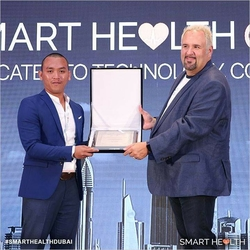 Top 50 Healthcare Company Award Presented by SmartHealthDubai