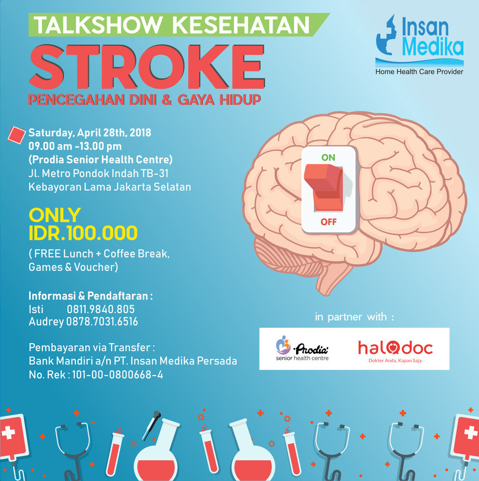 Talkshow Kesehatan: Kolaborasi Insan Medika dengan Prodia dan Halodoc